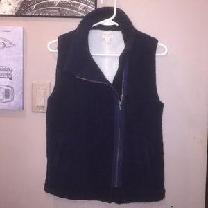 🍁 🍂 Ladies J. Crew wool fuzzy vest 🍂 🍁